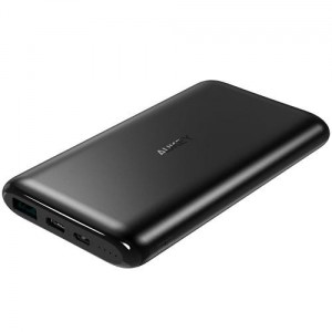 AUKEY PB-XN10 Black ultraszybki Power Bank | 10000 mAh | 3xUSB | 5.4A | Quick Charge | kabel micro USB