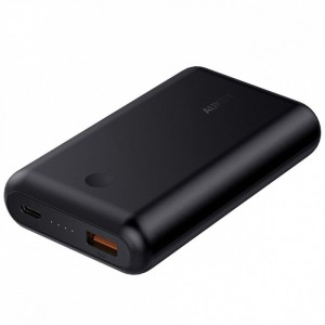 AUKEY PB-XD10 Black ultraszybki Power Bank | 10050 mAh | 2xUSB | 5.4A | Quick Charge 3.0 | Power Delivery | kabel USB-C