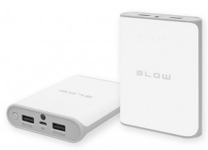 BLOW Power Bank PB14 14000mAh 2xUSB BIAŁY